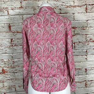 0b86cf66 Robert Graham Tops - Robert Graham Shirt Size Small Pink Paisley Top
